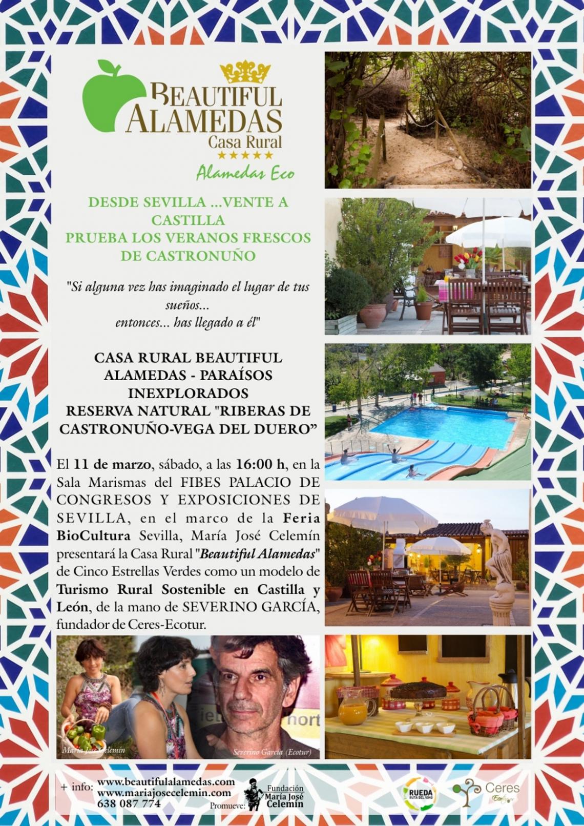 Casas rurales ecológicas y sostenibles Valladolid, Castilla y León, turismo responsable
